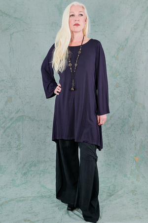 1574 A-line Layering Top-Amarathine-P