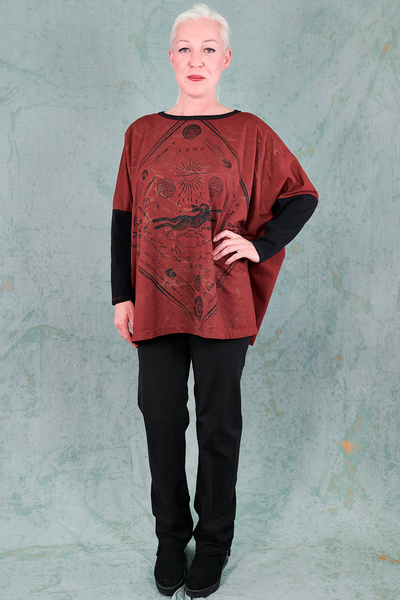 2320 Fable Sweatshirt-Capsicum-P