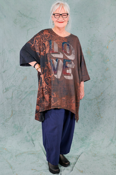 1566 HD Drawcord Tunic Sparrow-P