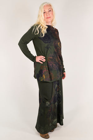 1259 Lisette Top-Night Forest-Printed