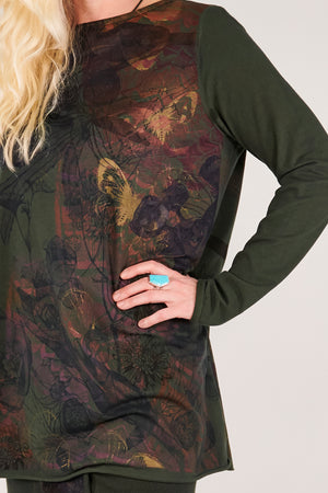 1259 Lisette Top Night Forest-P