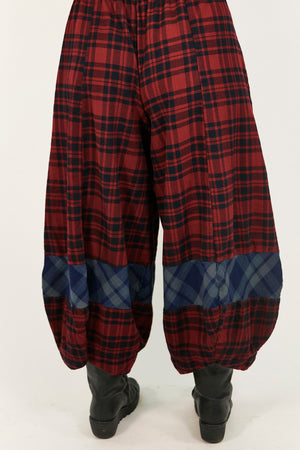 3209- Isla Cabin Blue Four Square Pant