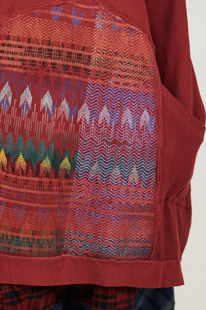 2207 Thermal Travel All Roads Tunic-Sangria-P