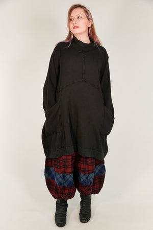 2207 Thermal Travel All Roads Thermal Tunic Black Unprinted