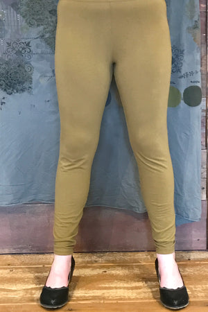 Lightweight BF Legging Dark Goldenrod UnPrinted