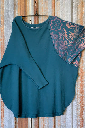 2340 Thermal City Top Teal-P