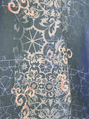 Crossover Linen Hypnea Too Tunic-2133G