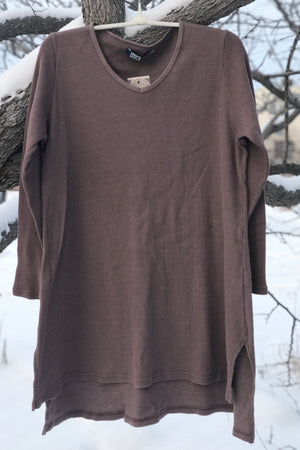 2293 Thermal Voyages Tunic-Rosewood
