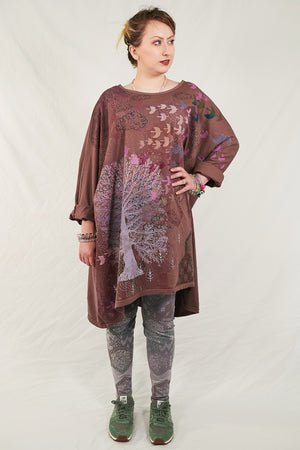 1258 Art Tunic Treehouse-P