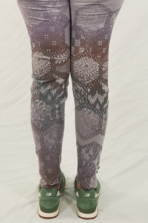 3136 Lightweight Leggings-Dawn-Printed