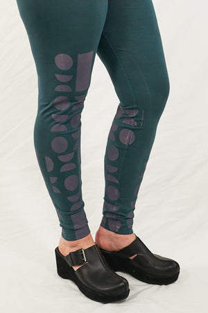 3136 Lightweight Leggings-Puddle-Printed