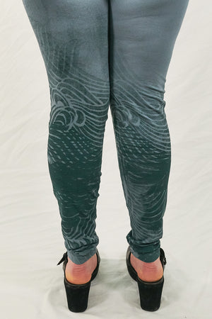 3136 Lightweight Leggings Sky-P