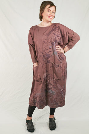 2303 Cotton Bamboo Mariposa Dress Treehouse-P