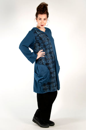 2233- Moonlit Hoodie Pullover Imaginary Blue-P