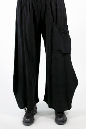 3159 Klee Pant Mineral Black Unprinted
