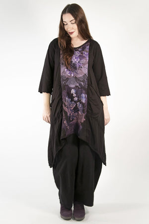 2298 Vector Long - Black Cherry -Printed