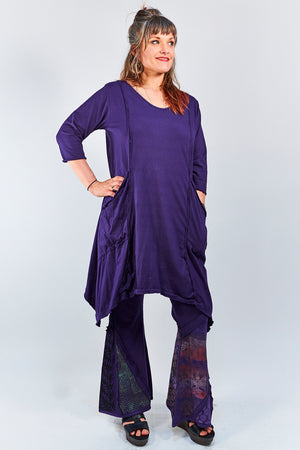 2298 Vector Long Mystic Purple -Unprinted
