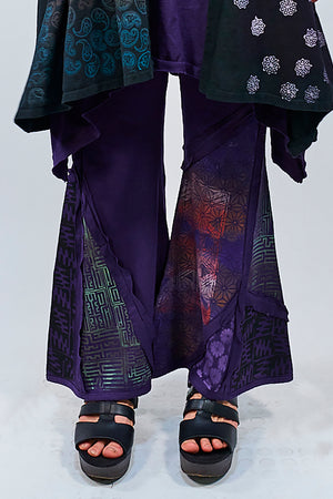 3295 Patchwork Pant-Mystic Purple-P