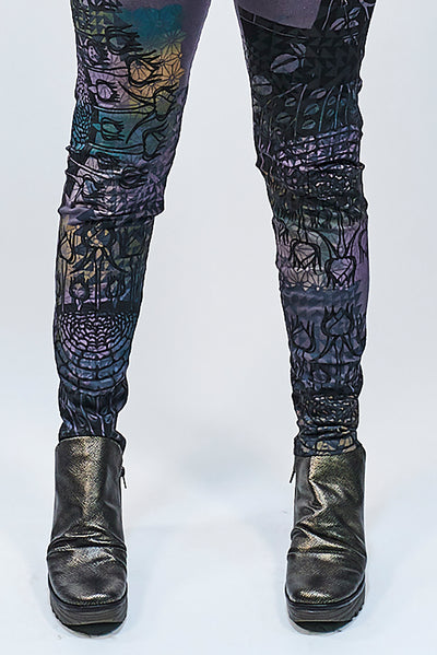 3101 Lightweight Organic Legging Arrowhead Colorful Print-P