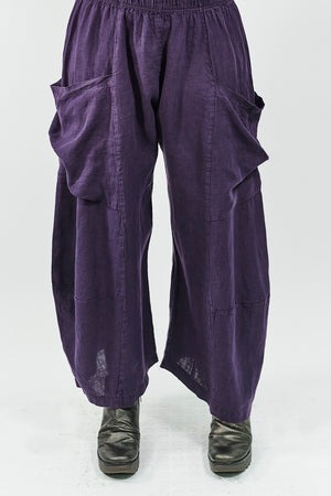 3285 Genealogist Linen Pant Royal Purple-U