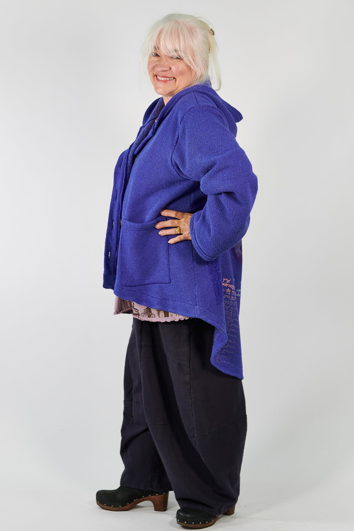 5270 Cozy Market Coat Blue Spectrum-P