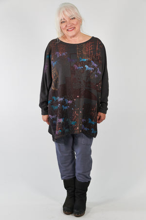 2304 Winter Mariposa -Stone-Printed