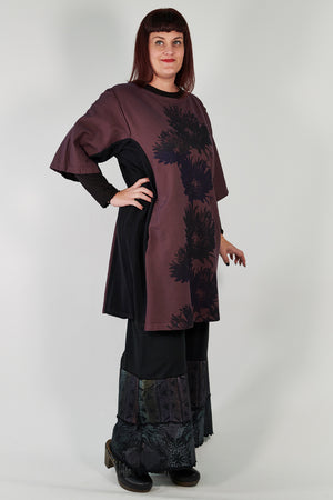 2250 Sketchbook Tunic/Sweatshirt Dress- Sumac