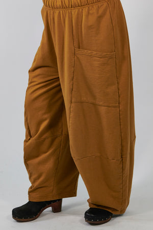 3292  Winter Four Square Pant with Pockets- Palo Santo