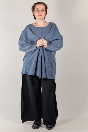 1249 Heavenly Cotton Sherpa -Ethereal Blue