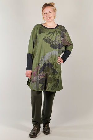 2251 Natural City Tunic-Herbacious- Savannah Sage Botanical