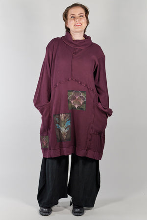 2207 Thermal Travel All Roads Tunic-Jam