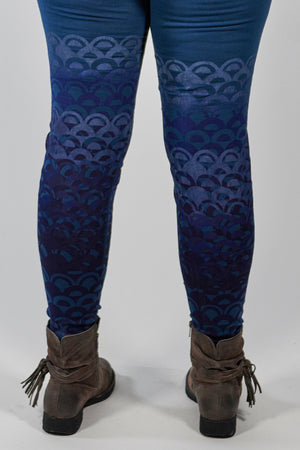 3136 Lightweight Legging Studio Blue-P