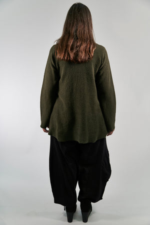 1246 Sherpa L/S Pocket Cowl Night Forest-Patched
