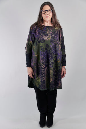 2251 Natural City Tunic Sequoia with contrast thread-P