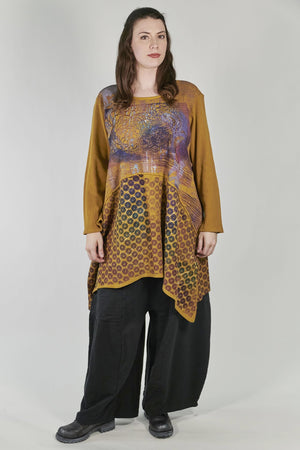 7218-Thermal Tunic-Palo Santo-Printed