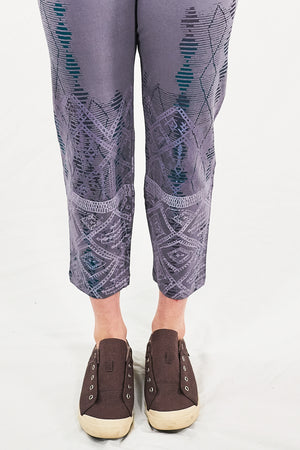 3167 Cropped Legging-Smoky Amethyst-P
