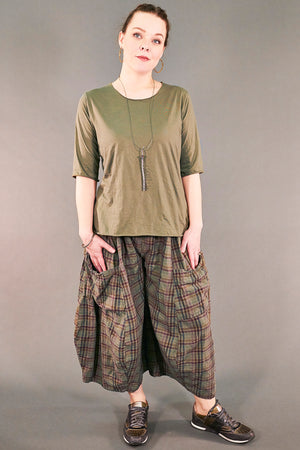 3258 Chopped Pant Vegetal-U