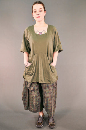 2187-2   Be Here Now Tunic Vegetal -U