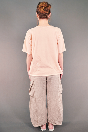 1144-s/s Simple Tee Hushed Pink-P