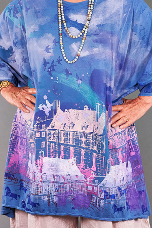 1255 Art Tunic Delft-Visions of Amsterdam