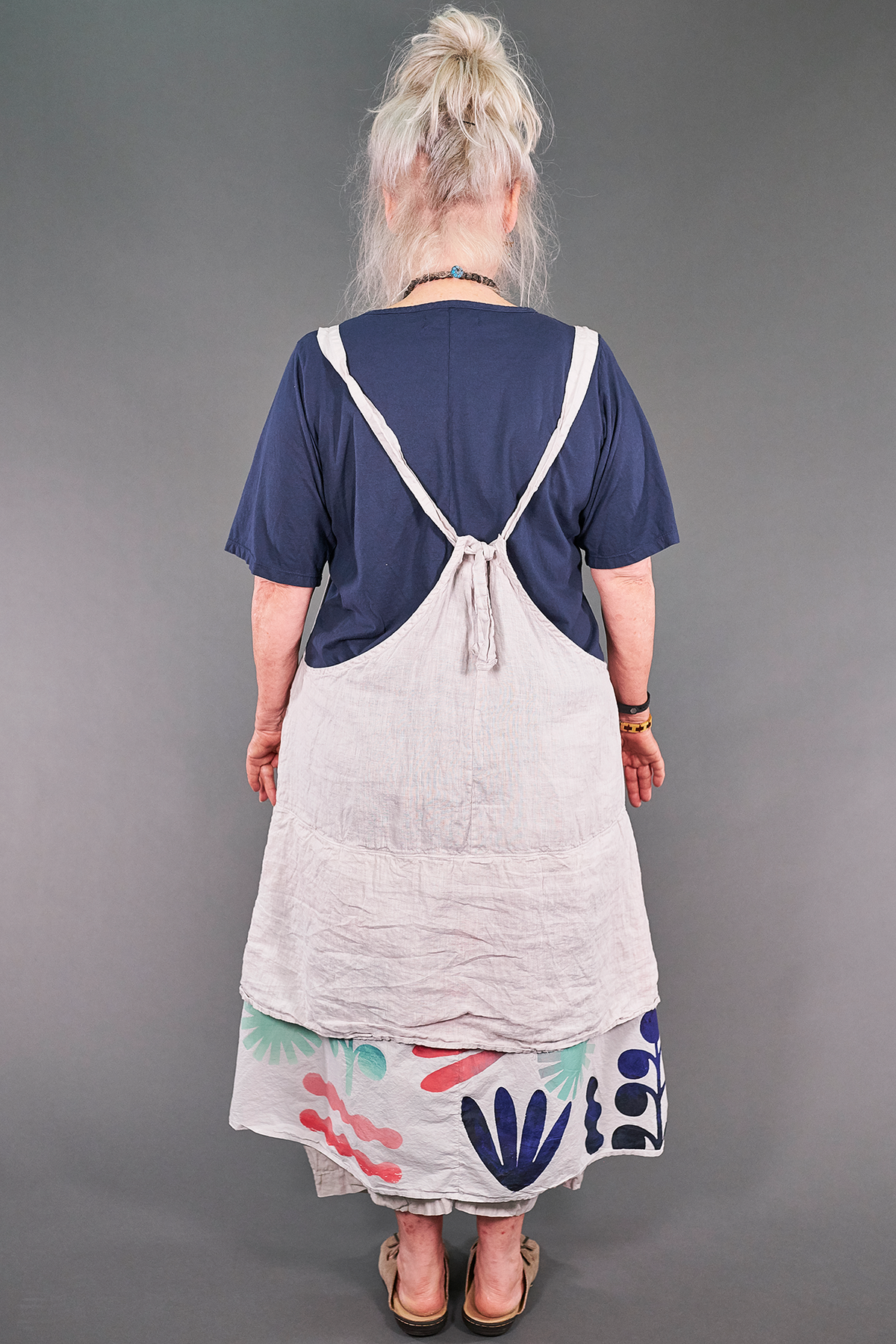 6209 Artist Apron Cool Gray-P