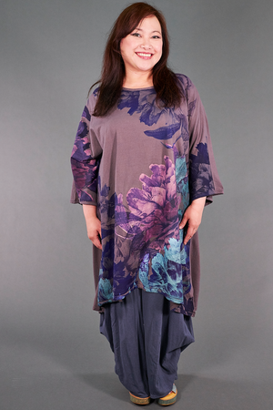 1255 Art Tunic Flint-Variegated Garden