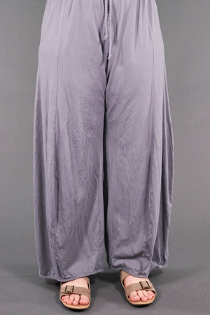 3142 Organic Billow Lounge Pant Pewter-U