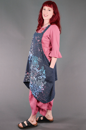 6202 Juniper Apron Jumper Kingfisher/Indigo-Dreamy Forest-P