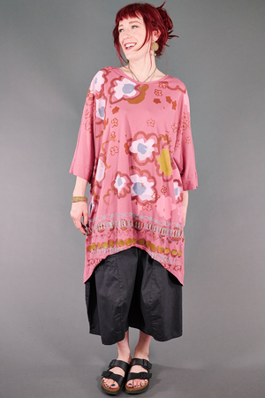 1566 Drawcord Tunic-Bloom-Color & Whimsy