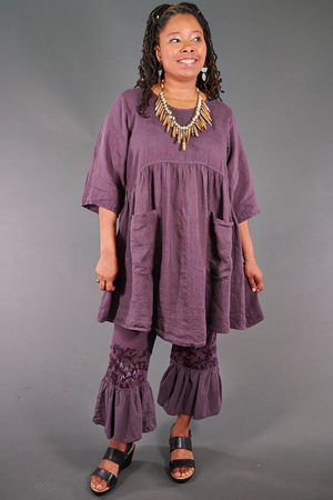2259 Charleston Tunic-Clove-U