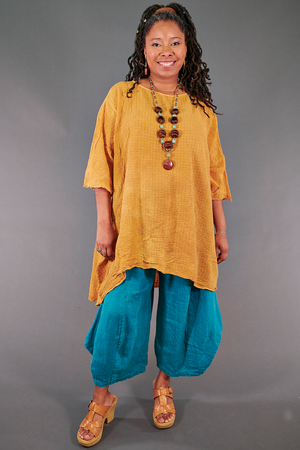 2282 Long Ana Tunic-Marigold