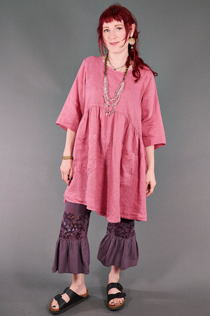 2259 Charleston Linen Tunic Bloom-U
