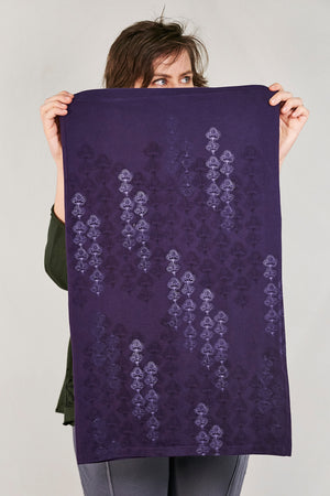 4175 Infinity Scarf/Skirt-Mystic Purple-Printed