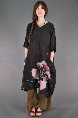 2195 Serenade Tunic Magpie Black-Botanic Form